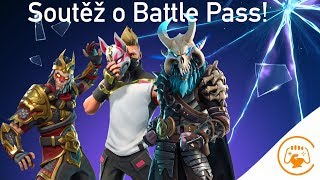 Nous concourons pour Battle Pass à Streamu-Fortnite CZ/SK