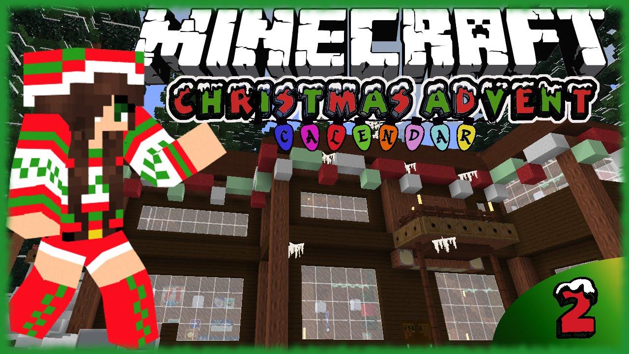 Christmas Calendar Minecraft Download : Minecraft the big christmas calendar episode