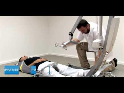 L ve personne winn 39 motion 175 relever un patient tomb au for Lit qui se leve