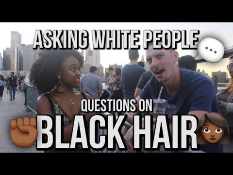 Download Asking White People Questions About Black Hair