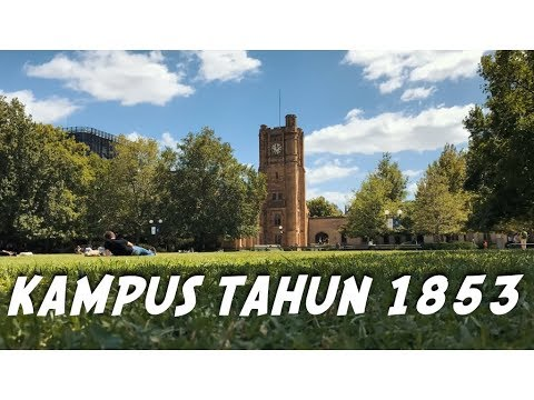 Universitas no 1 australia? | Tour Kampus University of Melbourne - #vlog 209