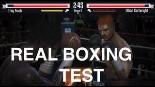 Test: Real Boxing - Kann der erste iOS-Titel mit Bewegungssteuerung überzeugen?