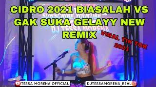 DJ CIDRO 2 NEW REMIX 2021 BIASALAH VS GAK SUKA GELAY BY DJ TESSA MORENA