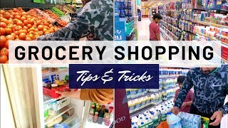 Come Grocery Shopping with me !!! Tips & Tricks