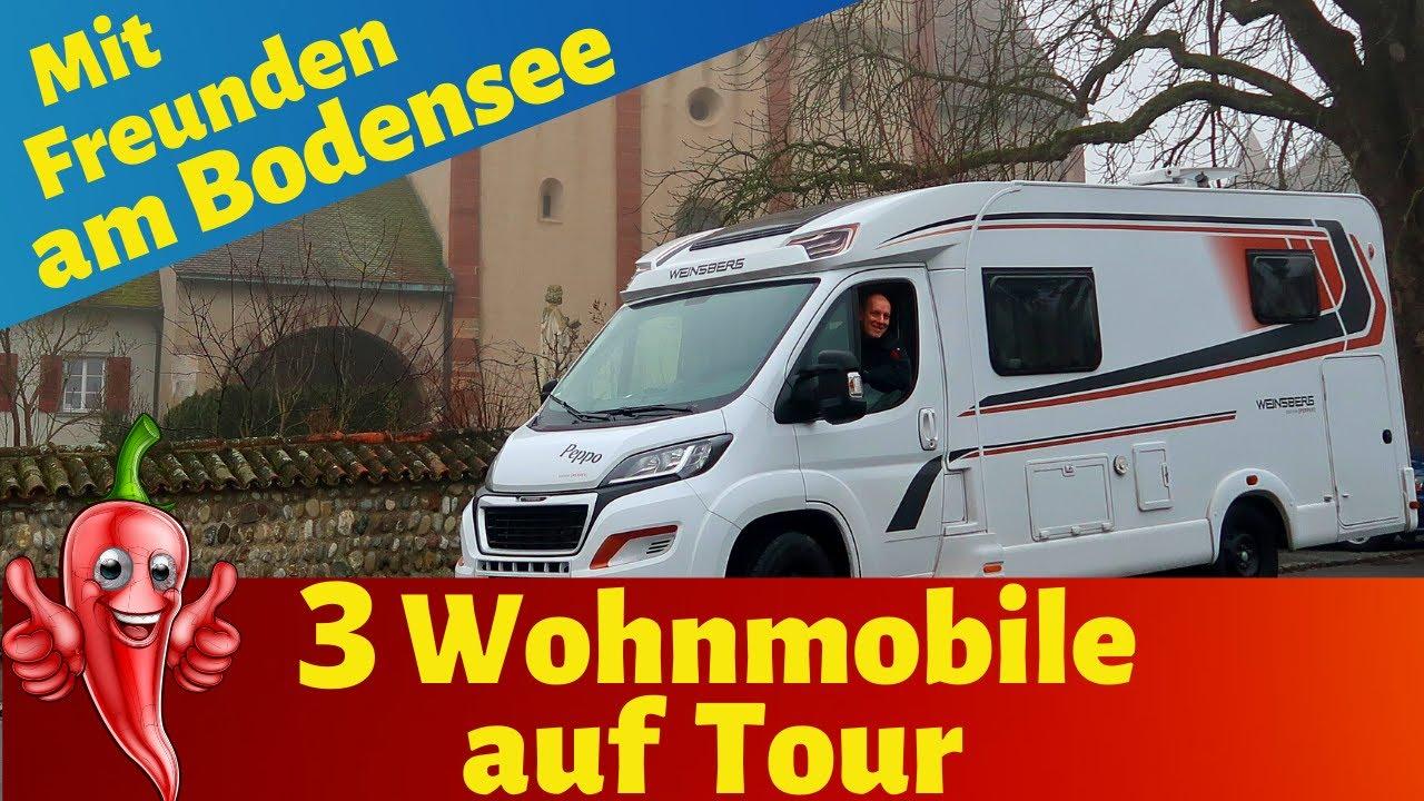 Wohnmobil-Tour an den Bodensee🤩 Mit Freunden unterwegs 🤗 VLOG#10
