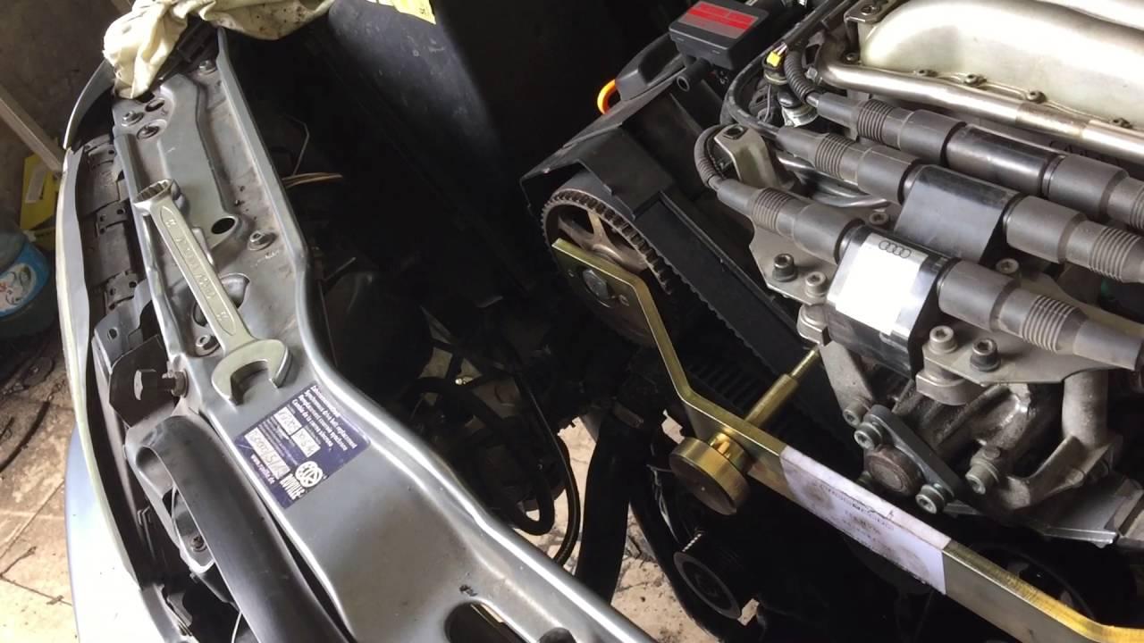 Audi A6c4 Wymiana Rozrządu V6 26 Abc Iii Cz Youtube