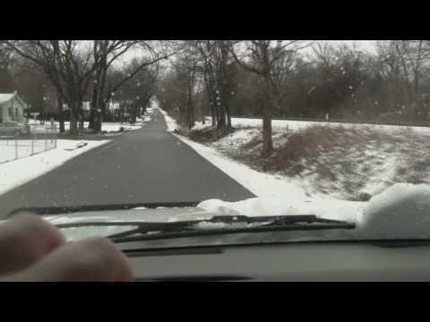 Christmas Snow in Stevenson, AL