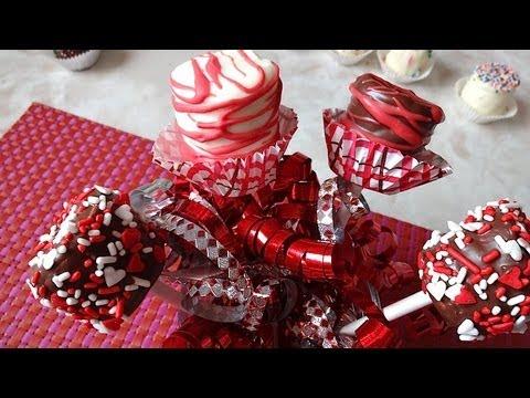 Paletas de bomb n cubiertas de chocolate mi receta youtube - Decoraciones san valentin ...