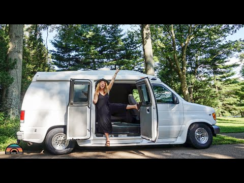 Solo Female Van Life - DIY Tiny House For Adventure On The Road