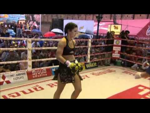 Gina Carano  Fight in Thailand