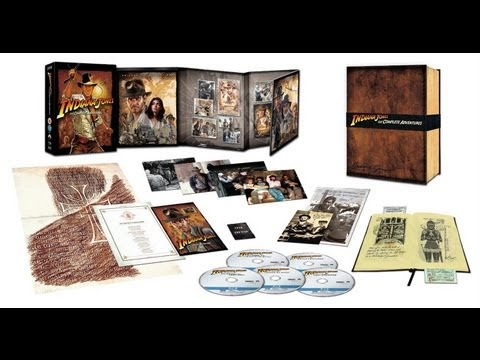 Indiana Jones: The Complete Adventures - Limited Collector's Edition - Blu-ray - Unboxing