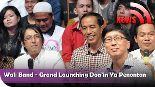 Nagaswara News-Wali Band-Grand Launching - Doa