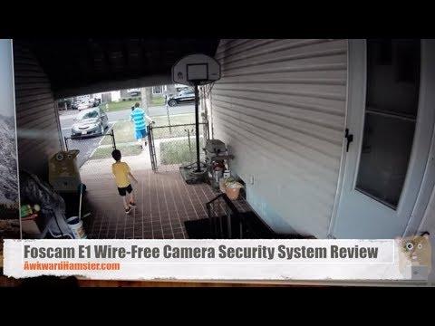 Foscam E1 Wire-Free Camera Security System Review