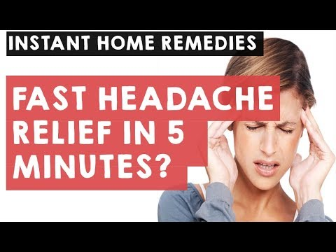how-to-get-rid-of-headache-fast-in-5-minutes|-how-to-cure-headache-instantly-with-natural-remedies