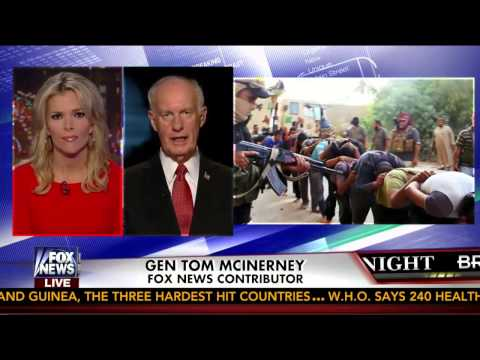 ISIS : Lt. Gen Tom McInerney warns Radical Fascist Islamist could hit US on 9/11 (Aug 27, 2014)