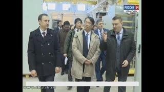 Японская делегация, находящаяся  в Чувашии, посетила ведущие предприятия республики