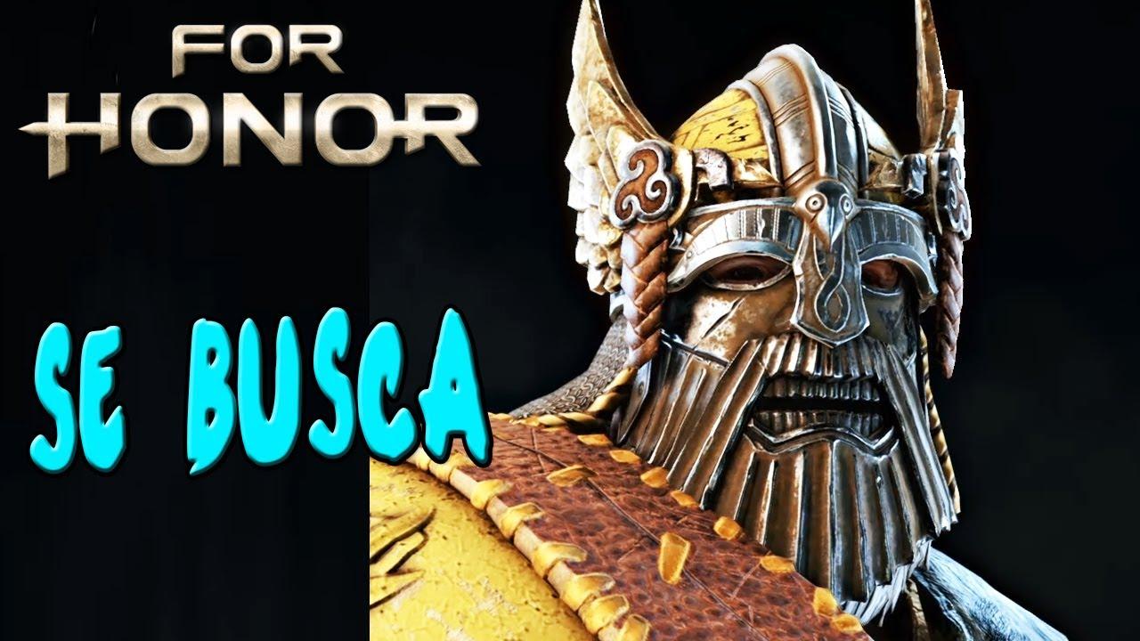 BUSCANDO LA MÁSCARA DE HUSCARLE!   FOR HONOR