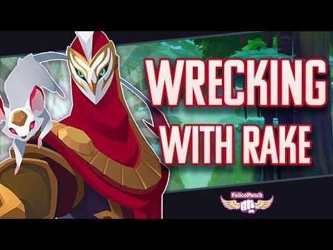 [GIGANTIC] Wrecking with Rake | Tyto Game play