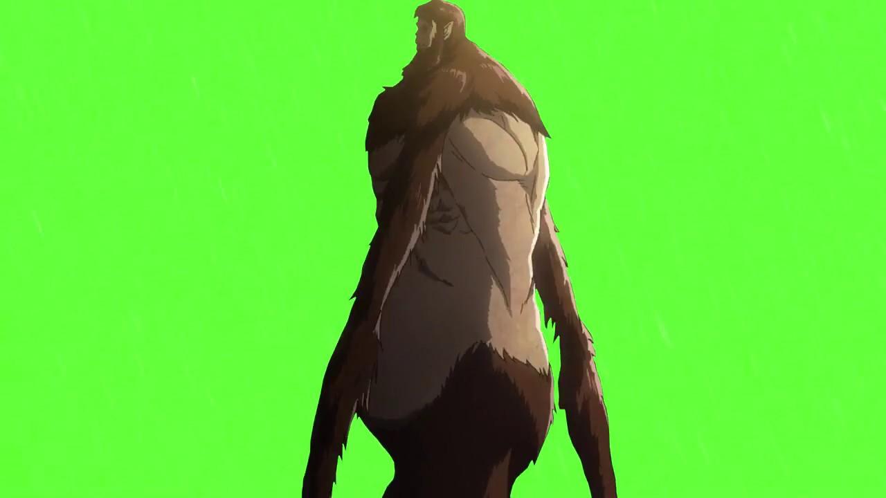 Free Green Screen Chromakey Anime Mask Attack On Titan Youtube