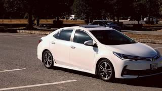 TOYOTA COROLLA ALTIS GRANDE 2018 FACELIFT VERSION REVIEW FIRST LOOK PAKISTAN