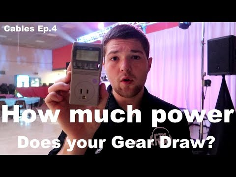 Cables Ep 04 | Extension Cords | Power | 15 And 20 Amp Breakers | How Much Power You Need
