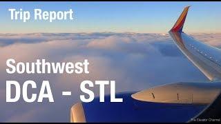 TRIP REPORT - Southwest (737-700), Washington (DCA) to St Louis