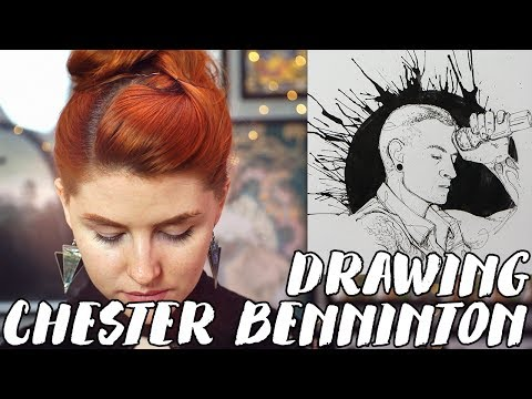 A Tribute to Linkin Park's Chester Bennington // Rad Art with Beth Be Rad | SNARLED