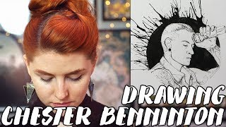 Скачать A Tribute To Linkin Park S Chester Bennington Rad Art With Beth Be Rad SNARLED