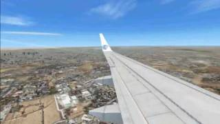 Fsx Egypt Air Boeing 737 Landing At Cairo Intl Airport Thumbnail