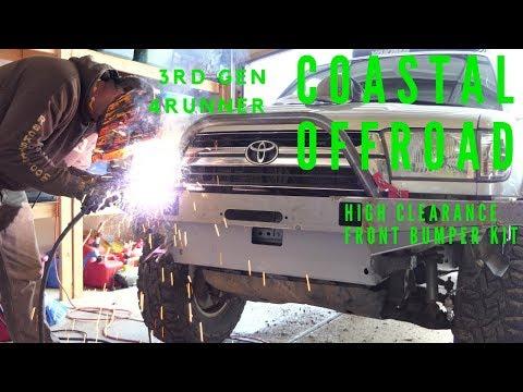 Coastal Offroad: 3rd Gen Toyota 4runner High Clearance Front Bumper