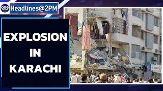 Blast in Karachi building kills at least 5, probe underway | Oneindia News