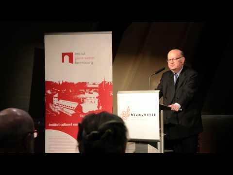 Aristide Briand - Conférence de Gérard Unger à l'institut Pierre Werner - 17 04 2012