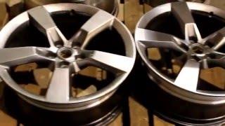Порошковая покраска дисков(, 2016-01-24T11:15:21.000Z)