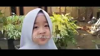 anak kecil nyanyikan lagu kasidah aishwa nahla
