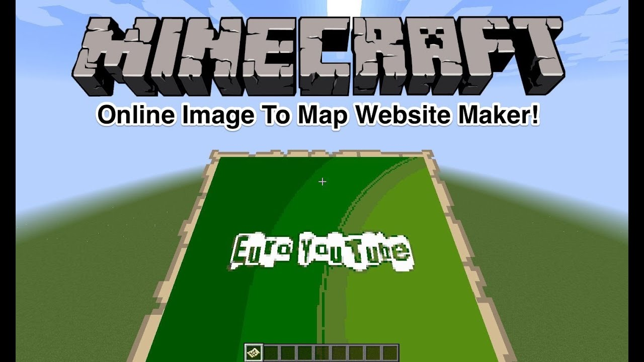 Minecraft - Online Image To Map Website Maker
