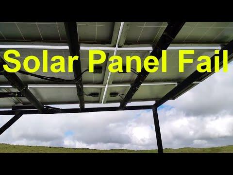 Solar Panel Fail Living Off The Grid (Cheap Blocking Diode Fail)