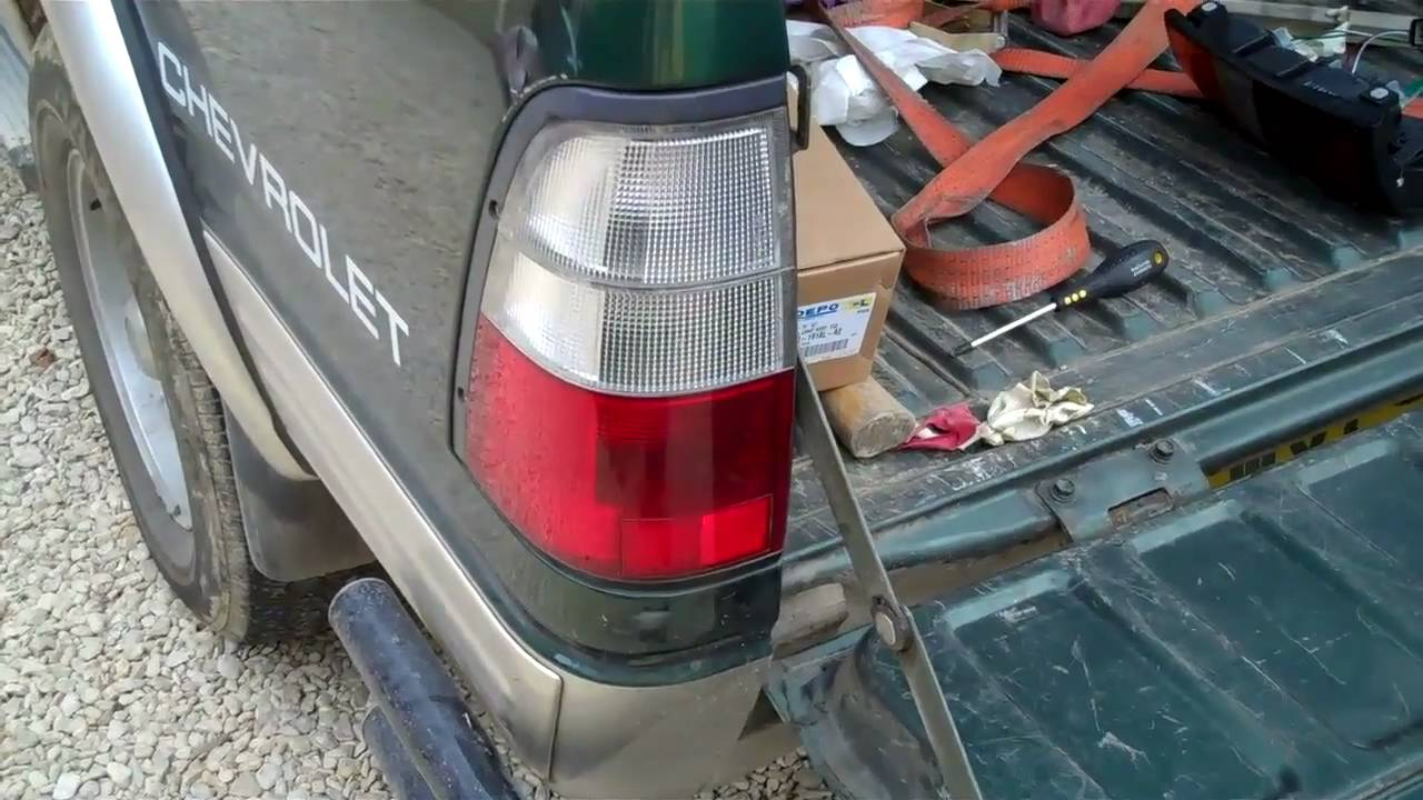 2003 Isuzu Rodeo Tail Light Wiring | Wiring Diagram on