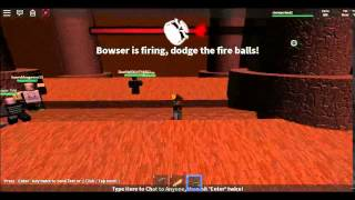 roblox boss battles | part 3 bowser