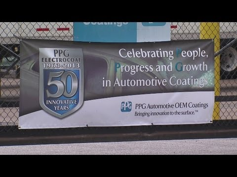 PPG Industries marks a technology anniversary at its Cleveland plant