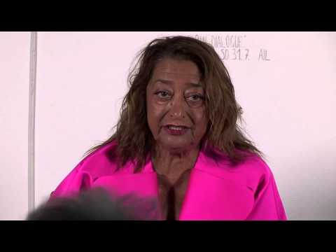 IoA Sliver Talk: Zaha HADID and Peter NOEVER, Art & Architecture in Conversation