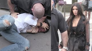 OFFICIAL VIDEO - FULL - Kim Kardashian attacked in Paris by Prankster, but there is security thumbnail