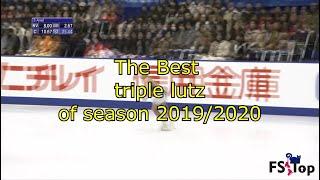 Best triple lutz of season 2019 20 Part 1 Лучшие тройные лутцы сезона 2019 20 Часть 1