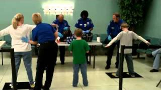 tsa pat down after mother and sons get off train