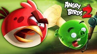 ЗЛЫЕ ПТИЦЫ ЭНГРИ БЕРДС битва со СВИНСКИМ ПОВАРОМ / Angry Birds 2