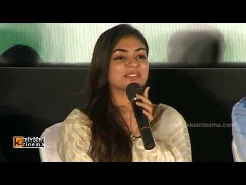 Nazriya Nazim at Thirumanam Ennum Nikkah Movie Press Meet
