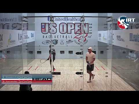 2018 US Open: Qualifiers: K. Waselenchuk vs S. Fernandez