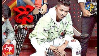 Bobby Performance | Dhee Champions | 5th August 2020 | ETV Telugu