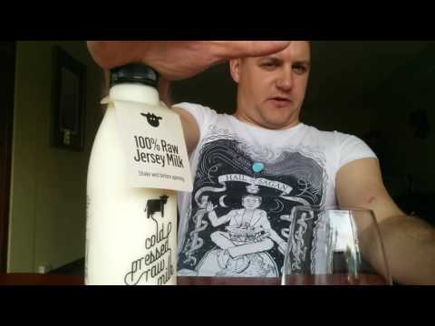 Cold pressed milk, a unheated pasteurisation method for raw milk drinkers.