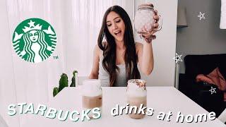 Making Starbucks Drinks At Home  Pink Drink, Ariana Grande's Cloud Macchiato