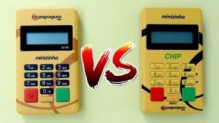 Minizinha vs. Minizinha Chip - Melhor máquina de Cartão do Pagseguro